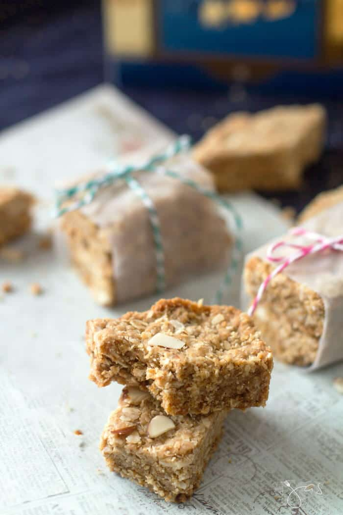 Delicious bite from crunchies - south African cookie bars
