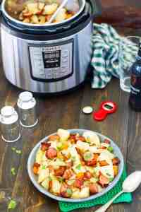Recipe for Irish dish Dublin coddle in an Instant pot and clow cooker