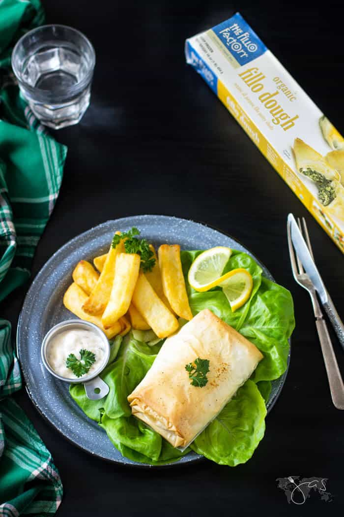 Irish Fillo Pastry Fish & Chips | All that's Jas