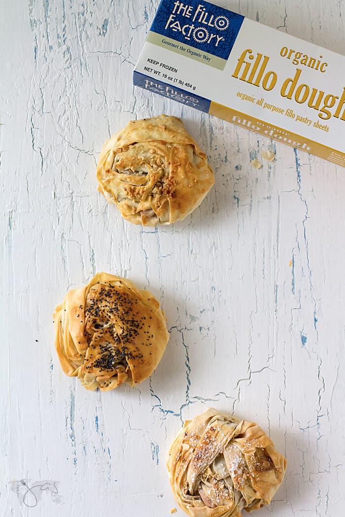 Fillo Factory Fillo Pastry for Peanut Butter and Jelly Fillo Doughnuts - Fillonuts