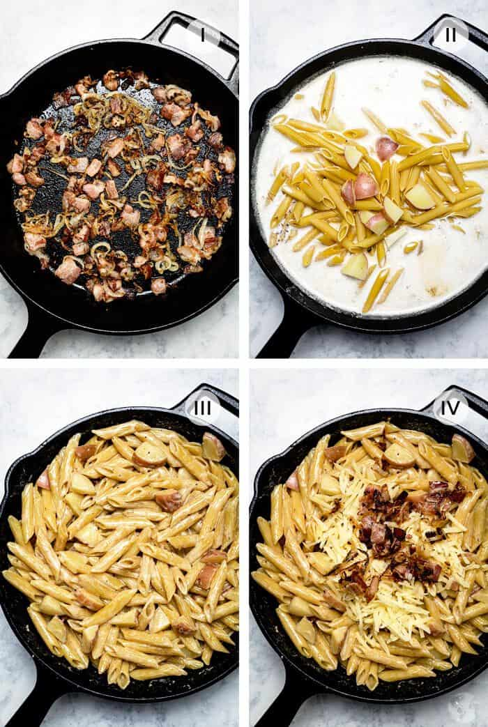 How to make Swiss Alpine mac and cheese