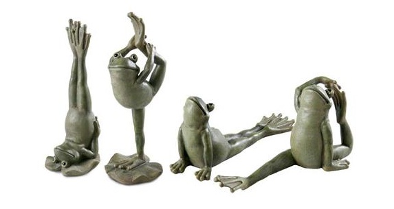 Housewarming Yoga Frog Gift Yoga Frog – All The Very Best