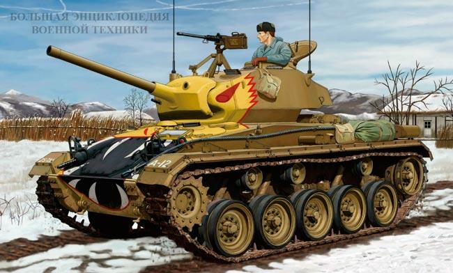 Танк M24 General Chaffee