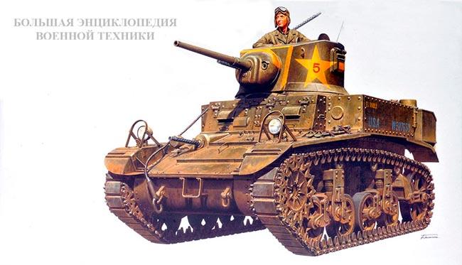 Легкий танк M3/M5 General Stuart