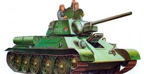 Средний-танк-Т-34