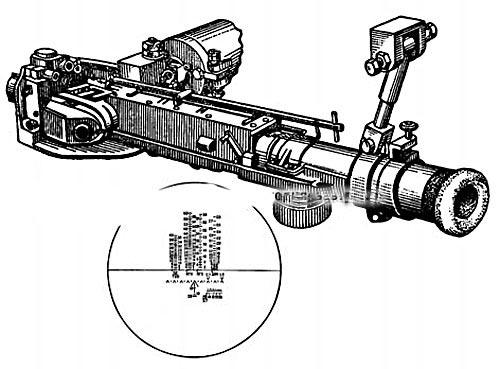Телескопический шарнирный прицел ТШ2-27