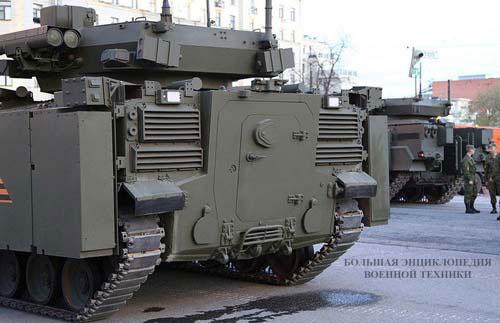 «Курганец-25» - вид сзади