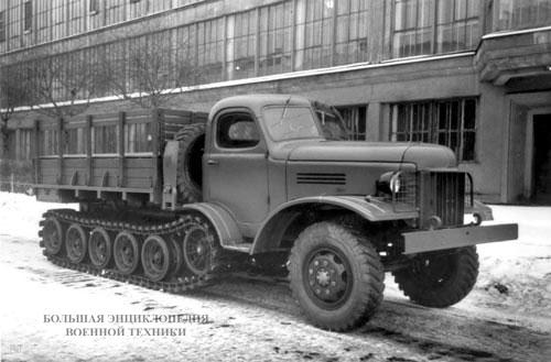 грузовой автомобиль ЗИС-153