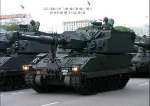 Сингапурская 155-мм САУ SSPH Primus