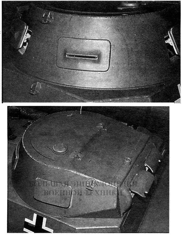 Башня танка Pz.l Ausf.A