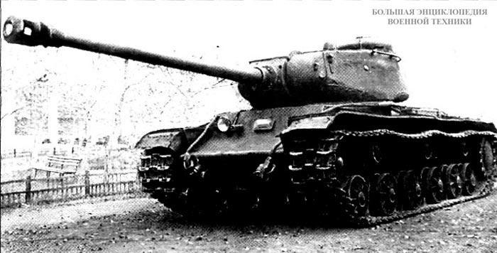 КВ-122 — танк КВ-85 с башней ИС-122