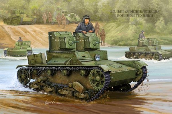 Легкий танк Т-26
