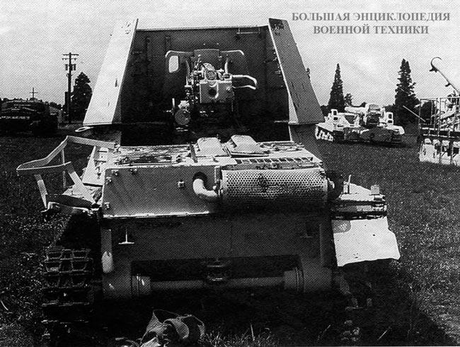 САУ Panzerjager I в экспозиции танкового музея на Абердинском полигоне в США