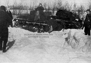 Pz.l Ausf.B и Pz.ll Ausf.F во время съемок художественного фильма «У твоего порога»