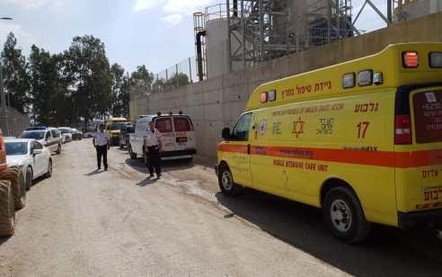הרוג ו-2 פצועים קשה ובינוני בשלושה תאונות עבודה הבוקר