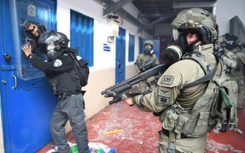 14 תאים הוצתו באגף חמאס בבית הסוהר רמון – אין נפגעים