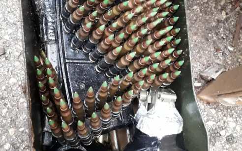 נשקים ורימונים נתפסו בפעילות יזומה לתפיסת אמצעי לחימה במזגר הערבי בצפון