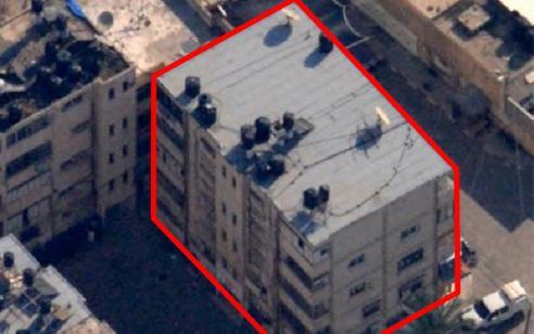 """צה""""ל: משרדי ביטחון הפנים של ארגון חמאס הושמדו"""