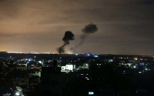 """צה""""ל: בשעתיים האחרונות תקפנו יעדי טרור נוספים במתחם צבאי של חמאס במרכז רצועת עזה"""