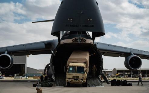 צפו: לראשונה בישראל כוחות אמריקנים מתרגלים פריסת מערכות הגנה אווירית בישראל