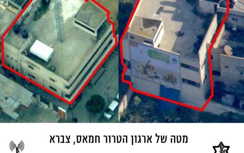 """צה""""ל: מטוסינו תקפו מטה סודי של ארגון הטרור בעזה – תוקפים את משרדי ביטחון של חמא""""ס"""
