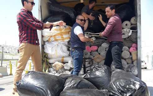 נתפסה משאית ובה מאות קילוגרמים של טבק שערך המס הנובע מהם עומד על כ-מיליון שקלים