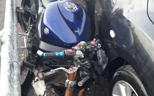 רוכב אופנוע נהרג בתאונה סמוך למפעל דשנים בקרית אתא