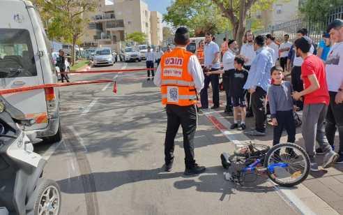 טרגדיה: נקבע מותה של בת ה-5 שנפגעה מרכב באלעד