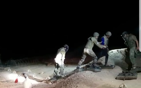 בתום שעות של חיפושים: ששת הצעירים שנקלעו לשדה מוקשים בערבה חולצו ללא פגע