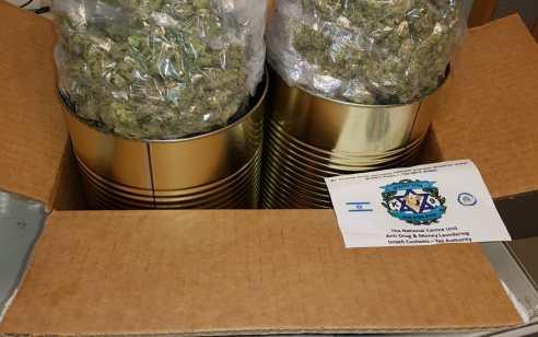 """צפו: קופסאות שימורים 'תמימות' מארה""""ב נמצאו מלאים בסם מסוכן – ה'שימורים' נשלחו באמצעות חברת שליחויות"""