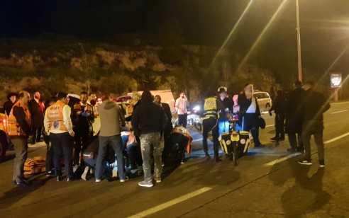 תאונת פגע וברח: ילד בן 7 נפצע אנוש מפגיעת רכב בירושלים – הרכב אותר