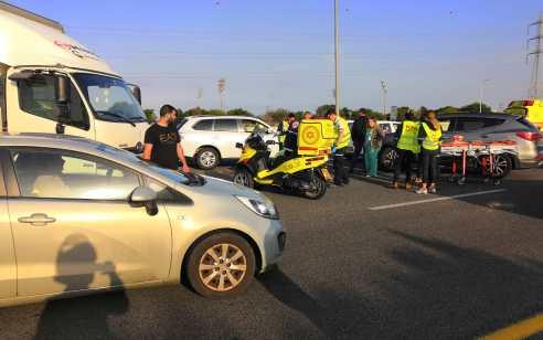 רוכב אופנוע בן 23 נהרג מפגיעת רכב בכביש 431 סמוך למחלף משה דיין