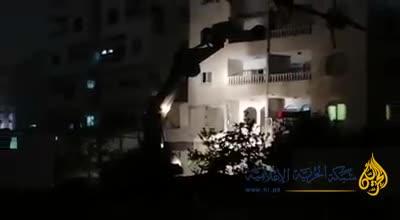 הלילה הרסו כוחותינו את בית המחבל שרצח ואנס את הנערה אורי אנסבכר הי״ד