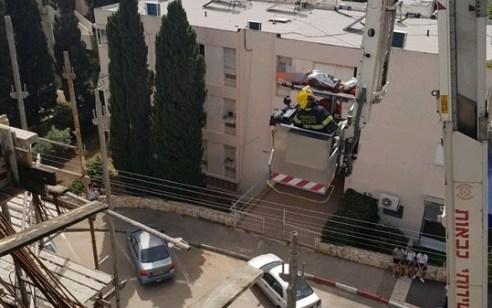 חיפה: פועל נפגע ממשאבת בטון באתר בניה – מצבו בינוני