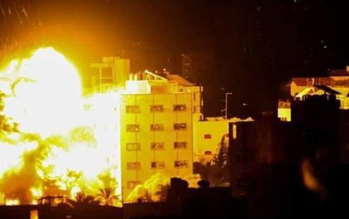 """צה""""ל תקף כ-40 יעדי טרור נוספים, עד כה הותקפו מעל 320 יעדים"""