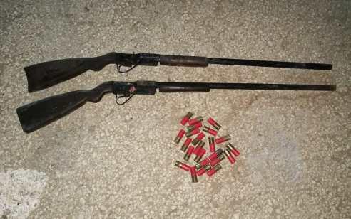 בפעילות לאיתור ותפיסת כלי נשק ואמצעי לחימה אותרו 2 רובי ציד ותחמושת – שני חשודים נעצרו