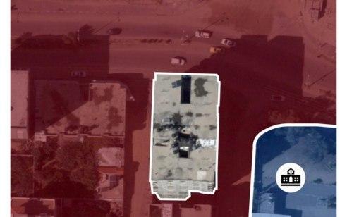 """צה""""ל תקף מבנה בן 7 קומות של חמאס המסווה תוואי מנהרת לחימה"""