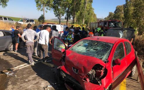 הרוג ושני פצועים בינוני בתאונה בכניסה לדבוריה
