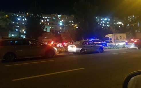צעיר כבן 18 נפל מטרקטורון בירושלים ונפצע באורח בינוני