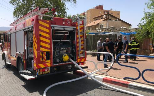 הרוג ופצועה אנוש בפיצוץ בלון גז בדירת מגורים באילת