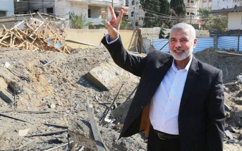 """אסמאעיל הנייה: """"רשמנו משוואה חדשה בעימות האחרון עם ישראל"""""""