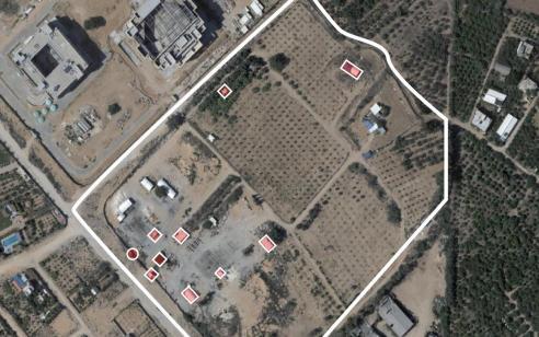 """עדכון לירי: לפחות 5 שיגורים באזור לכיש – צה""""ל תקף עד כה כ-120 יעדי טרור ברחבי רצועת עזה"""