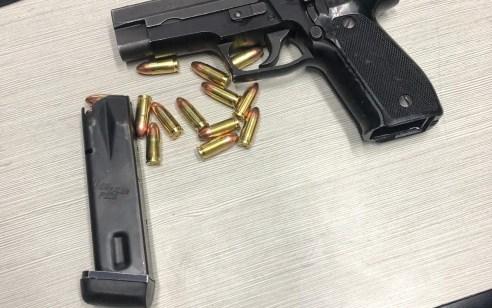 כוחותינו תפסו אקדח, מחסנית ותחמושת בבדיקת רכב במעבר שועפאט בירושלים – 4 חשודים נעצרו