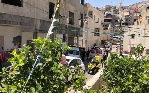 פועל כבן 55 נפצע קשה מחפץ שנפל עליו בעת העמסת ציוד בדיר אל אסד