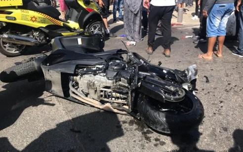 תאונת דרכים קטלנית אתמול ביפו: המשטרה עצרה את בעלת הרכב הפוגע