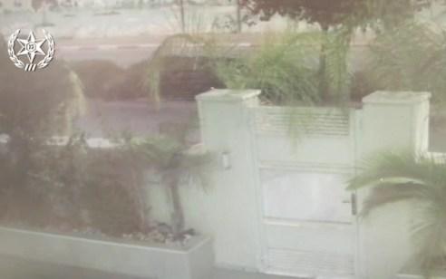 צפו: גנב טרקטור בראש העין נעצר לאחר מרדף