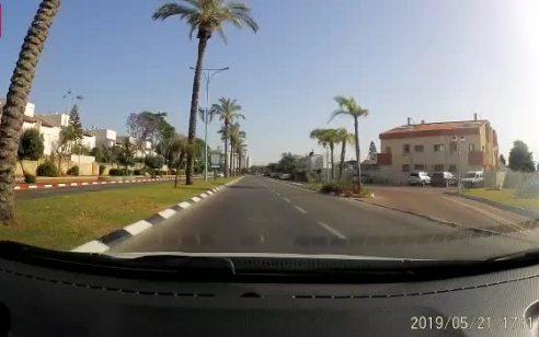תיעוד: פגע וברח באור יהודה – אחרי סריקות נרחבות הנהג אותר