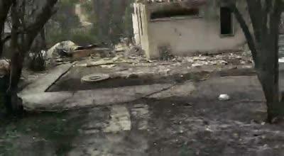 כבאות והצלה לישראל בודקת חשד להצתה בשריפה במבוא מודיעים
