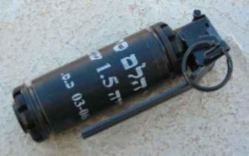 רימון הלם השולך לעבר עסק בתל אביב – אדם נפצע קל