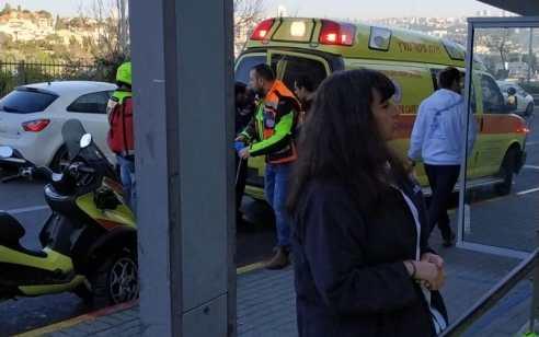 גבר בן 59 נפצע ממראה של אוטובוס בירושלים – מצבו בינוני